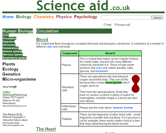 third generation of science aid